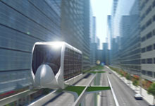 City mounted SkyWay